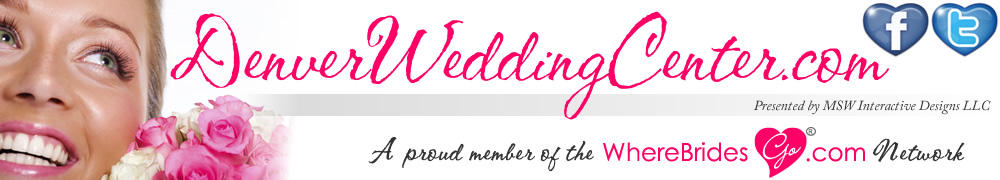 Plan your Denver wedding with DenverWeddingCenter.com